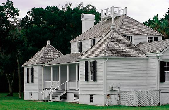 Plantation Kitchen House the kingsley plantation